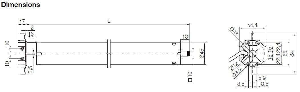 Dimensions NICE Neoplus M
